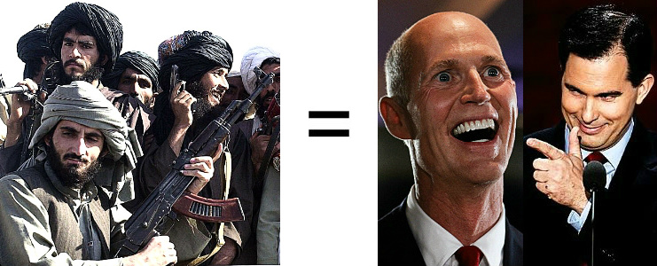 Taliban = Scotts